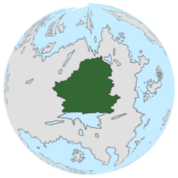 Location of De Vremdspongeln on the globe.