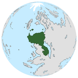Location of Prunia on the globe.