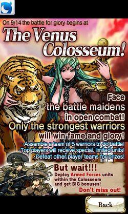The Venus Colosseum
