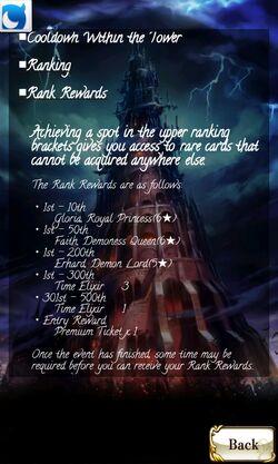 Demon's Tower reward