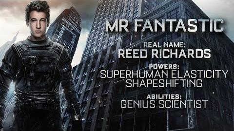 """Fantastic Four """"Mr. Fantastic"""" Power Piece HD 20th Century FOX"""