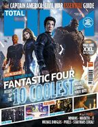Fantastic Four Total Film cover