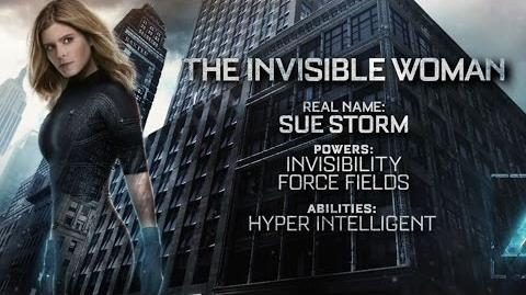 """Fantastic Four """"The Invisible Woman"""" Power Piece HD 20th Century FOX"""