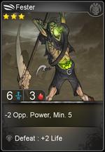 Fester card level 3