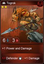 Togrok card 2