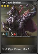Gzad-Belehen card level 3