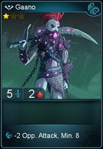 Gaano card level 1
