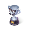 Silver Disguise Trophy