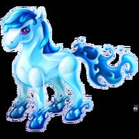 Aquamarine Pony Adult