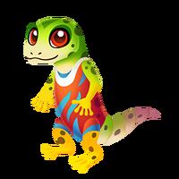 Gecko Roman Juvenile