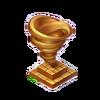 Bronze Twister Trophy