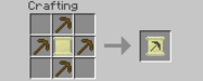 Pickaxe Recipe