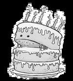 Carnivorous cake