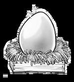Pristine porkin egg
