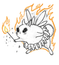 File:Pixie dustbunny flaming.png