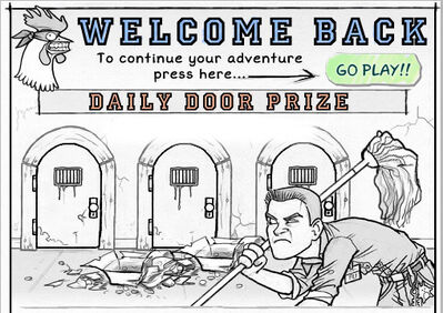 Welcome back no prize