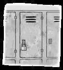 Pleasanton sophomore locker