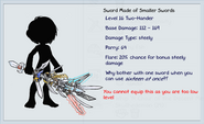Sword Made of Smaller Swords