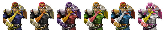 File:Captain Falcon Colors.jpg