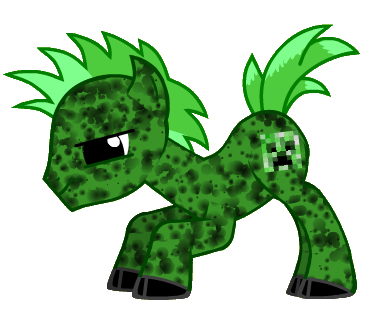 File:CreeperPony.png