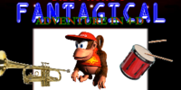 Diddy Kong's Fantagical Adventure in 4-D