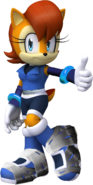 Sonic boom new sally render