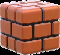 Brick Block Artwork - Super Mario 3D World