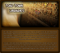Toad Town Libraries