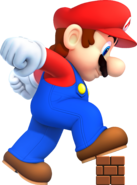 NSMB2 Mega Mario