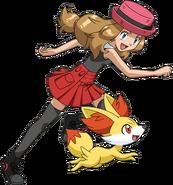 Serena XY anime old (6)