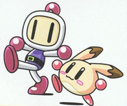 Bomberman and Pommy