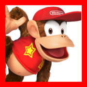 Diddy Kong for SSB4a