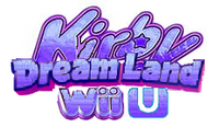 Kirby Dream Land Wii U Logo 2