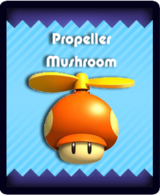 Super Mario & the Ludu Tree - Powerup Propeller Mushroom