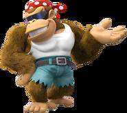 Funky Kong Artwork - Donkey Kong Country Tropical Freeze