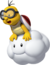 Red Lakitu from Mario Kart 7 By Shy Guy Yellow