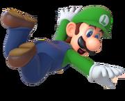 Luigi artwork (Mario Party 10) finished