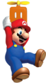 Mario with a Propeller Box