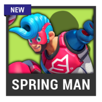 ACL -- Super Smash Bros. Switch character box - Spring Man