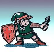 Game and link smash bros