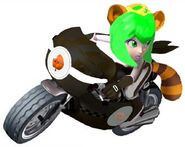 Princess Racourtney motorcycle