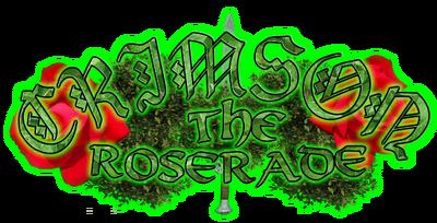 Crimson the roserade logo