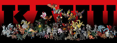 Kaiju Collection by ZappaZee