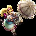 593px-Hyrule Warriors - Agitha Parasol Artwork