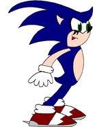 Nega sonic for silverknucklesl by icethehedgehog11-d3dv5kj