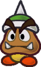 Paper Spiked Goomba