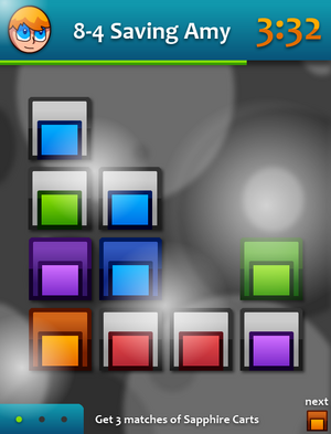 Sixty 4's Puzzler Game Screen