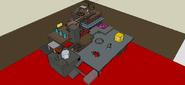 Beta Koopa Industries Factory SM3DW