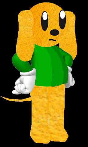 File:3D Johnny Dog.png