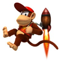 Diddy Kong DKCR